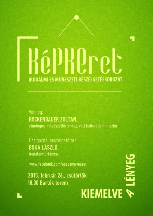 Kepkeret Rockenbauer plakat