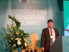 Titus Pop at the First European Education Summit in Brussels